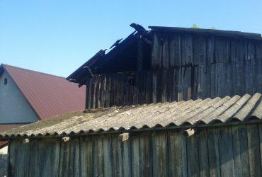 Pożar w Lubatowej